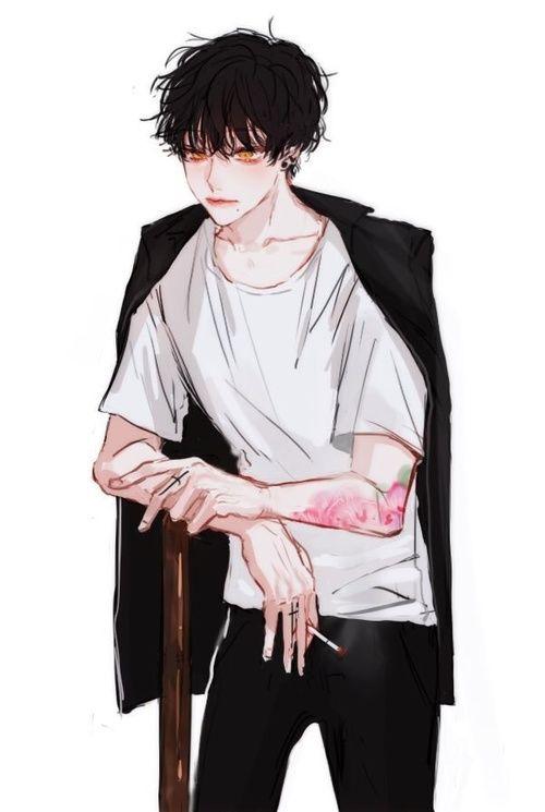 Hình ảnh anime Hàn đẹp ngầu