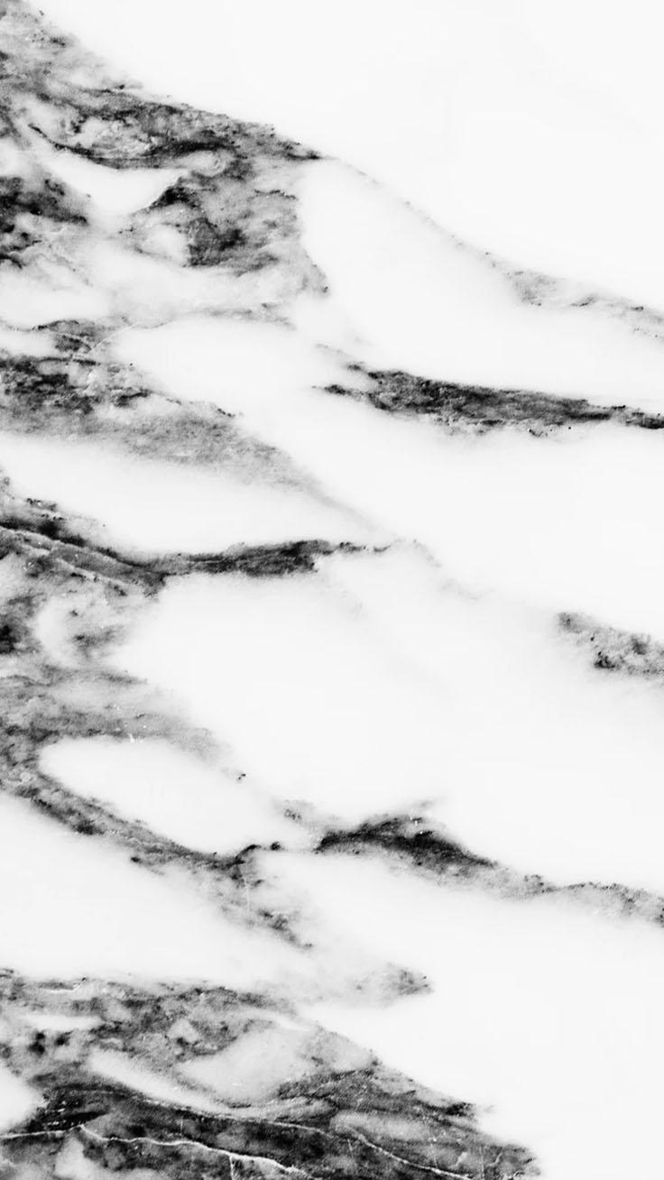 Hình nền cho điện thoại núi tuyết đen trắng