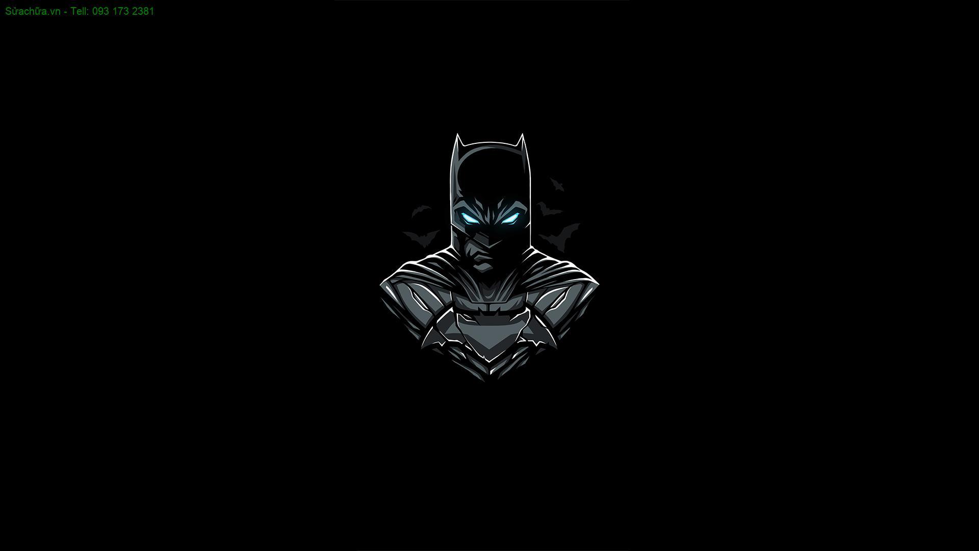 Hình nền đen Batman cực đẹp