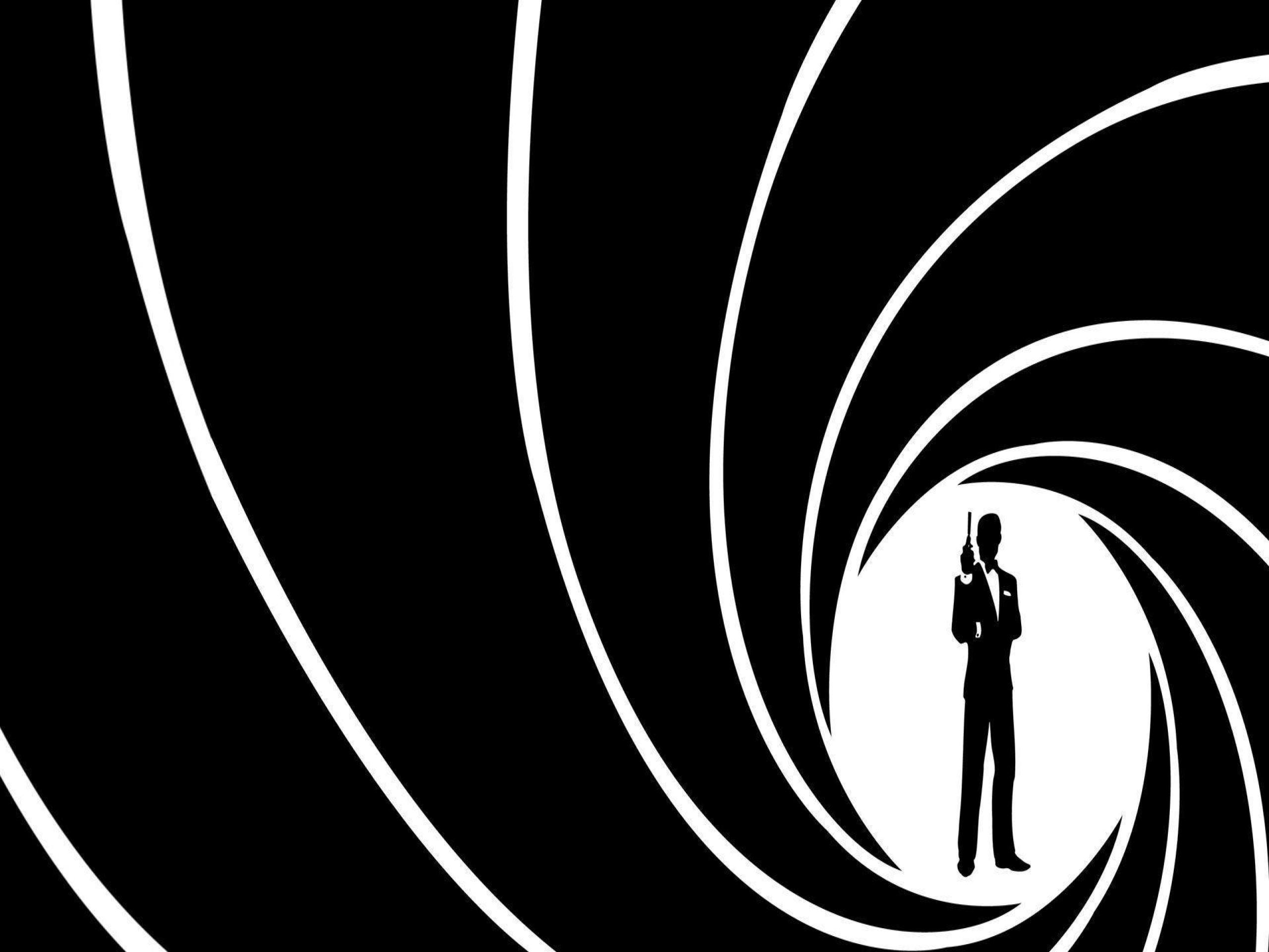 Hình nền đen trắng James Bond cực đẹp