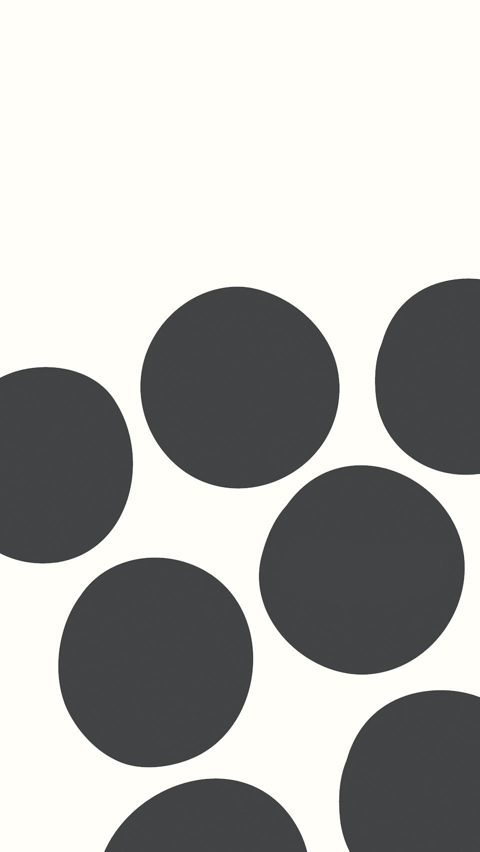 Hình nền điện thoại đen trắng những hình tròn