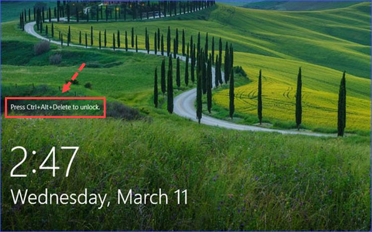 Lần khởi động Windows 10 tiếp theo, bạn sẽ được Secure Sign-in bảo vệ trước khi đăng nhập