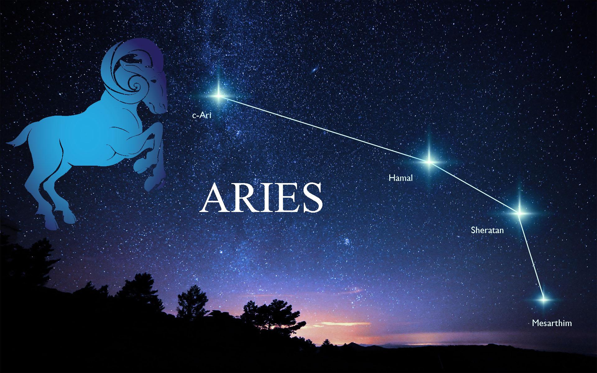 Hình ảnh chòm sao cung Bạch Dương