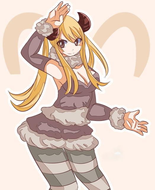 Hình ảnh cung Kim Ngưu anime girl