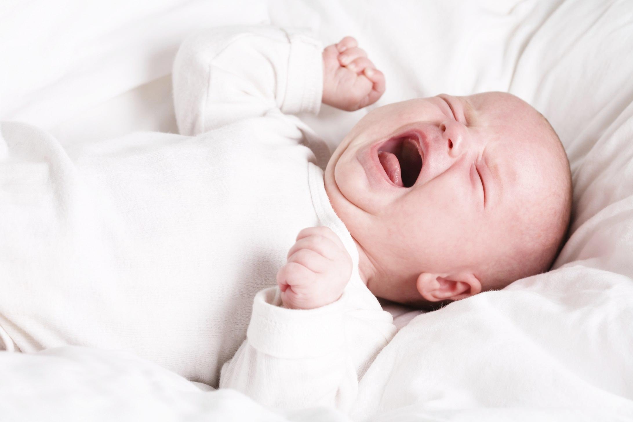 Hình ảnh em bé khó ngủ đẹp