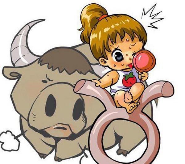 Hình ảnh hoạt hình cung Kim Ngưu dễ thương