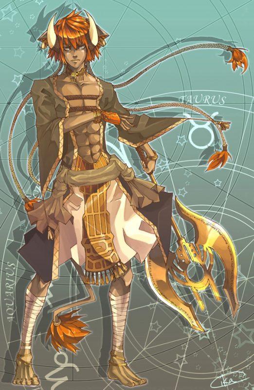 Hình ảnh hoạt hình về cung Kim Ngưu