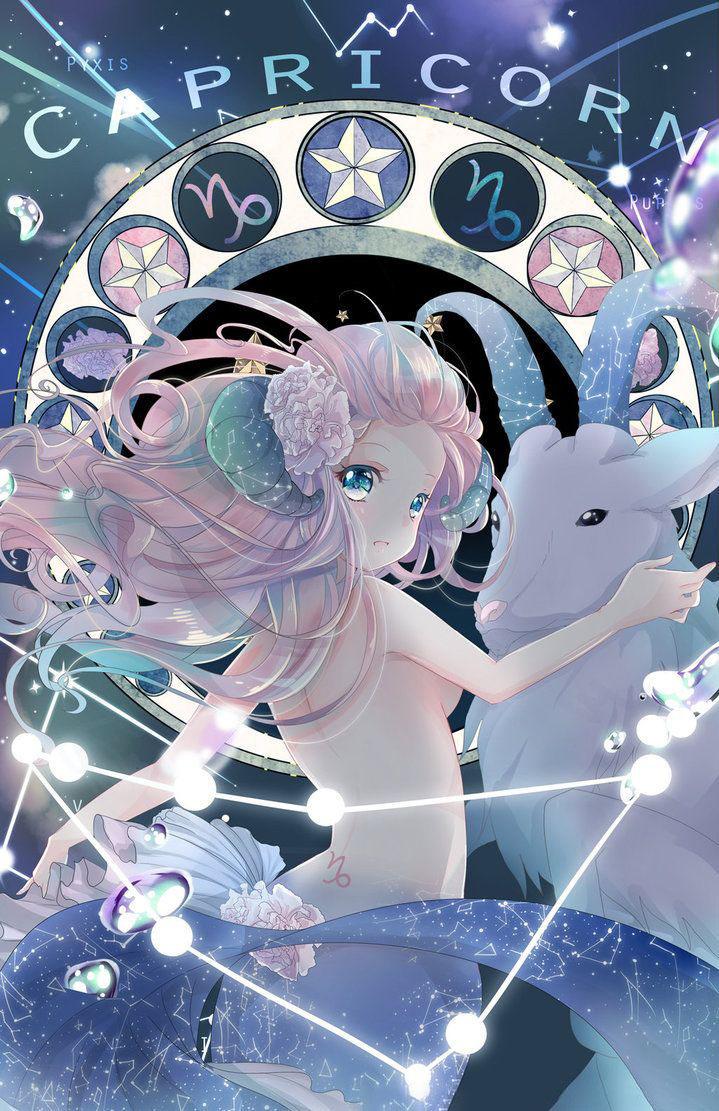 Hình ảnh Ma Kết anime
