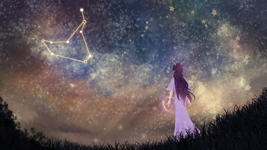Hình ảnh về chòm sao Ma Kết