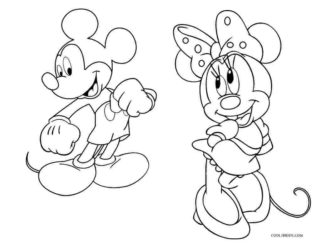 Tranh tô màu Mickey đẹp
