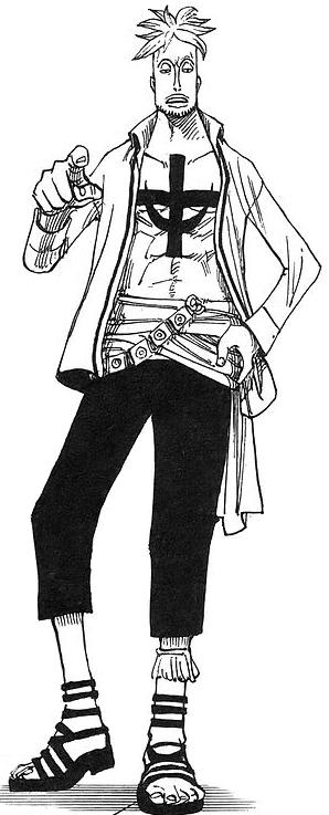 Tranh tô màu nhân vật phụ One Piece