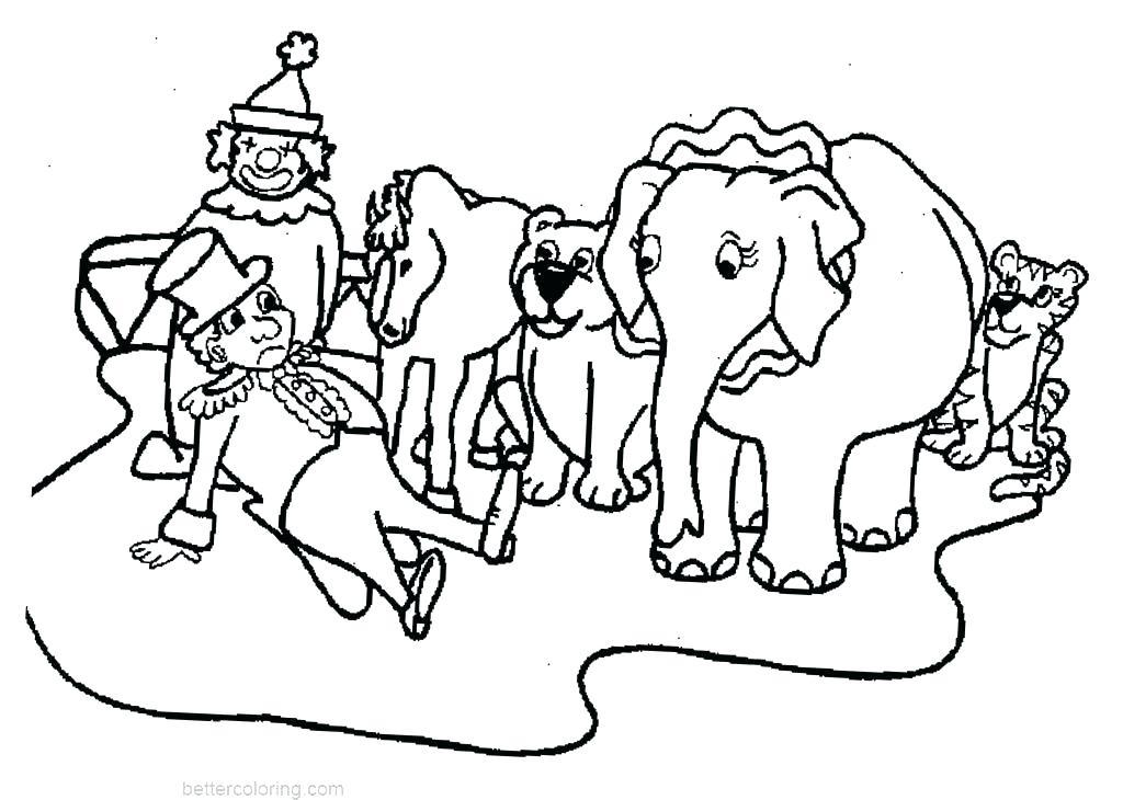 Tranh tô màu voi cực đẹp