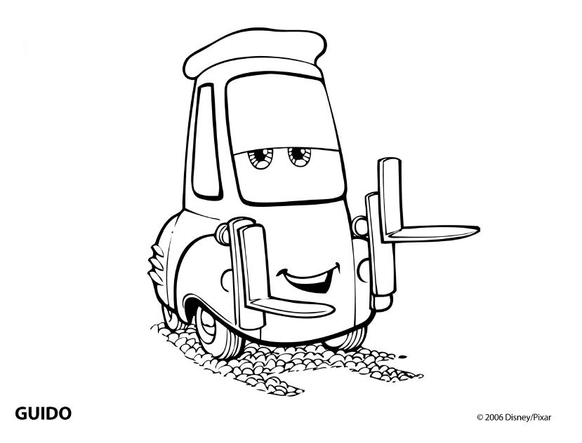 Tranh tô ô tô cho bé