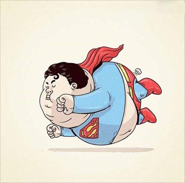 Ảnh chế Superman