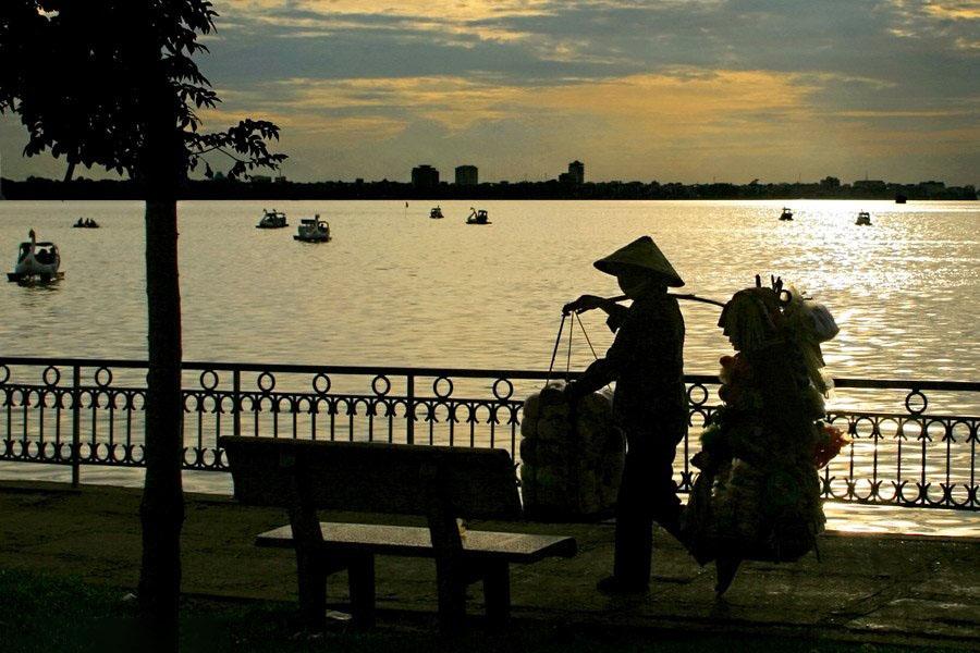 Ảnh đẹp chiều Hồ Tây