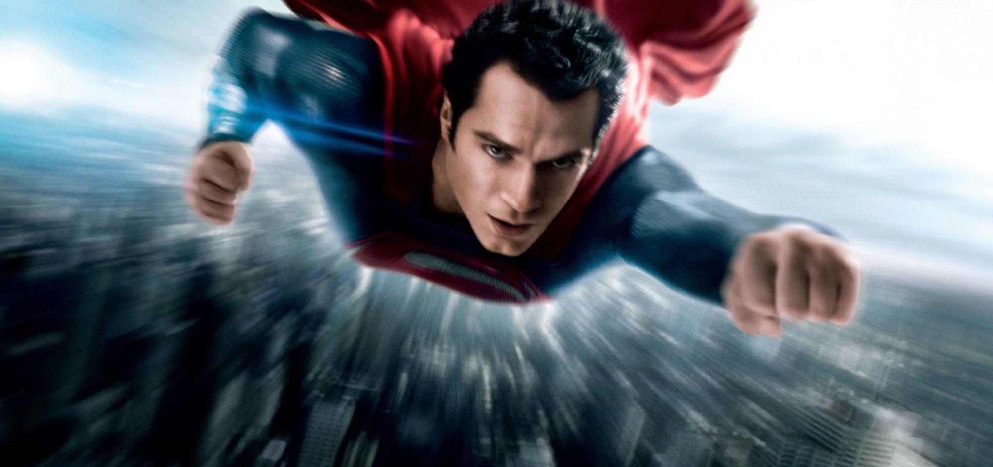 Ảnh đẹp Superman đang bay