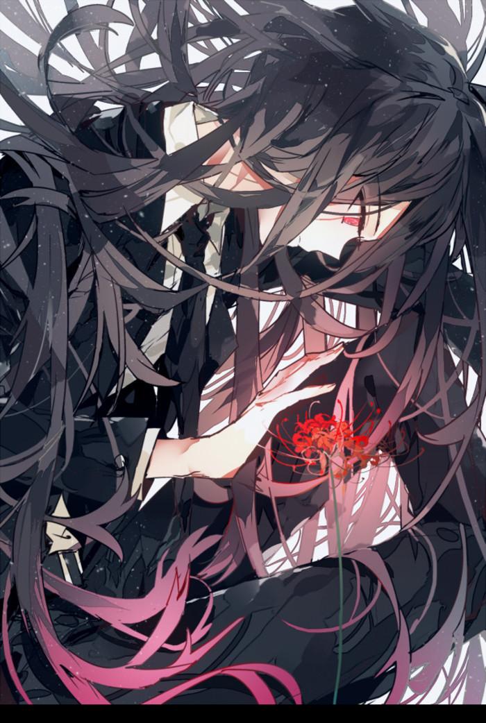 Ảnh hoa bỉ ngạn Anime buồn đẹp