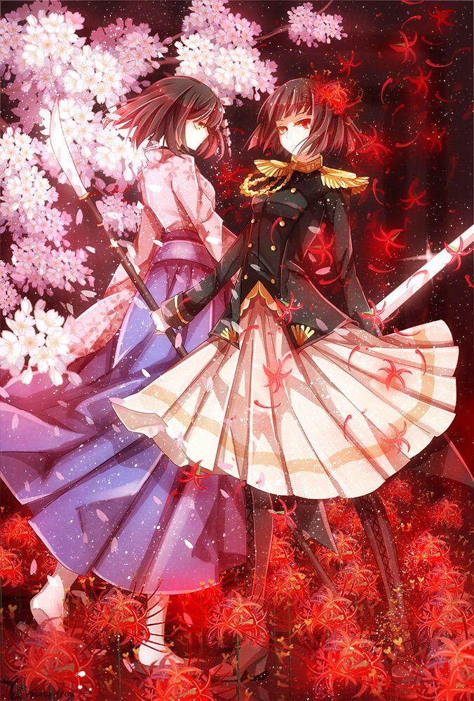 Ảnh hoa bỉ ngạn đỏ Anime