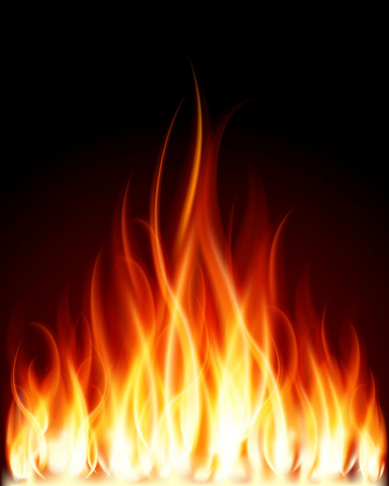 Ảnh ngọn lửa bốc cháy