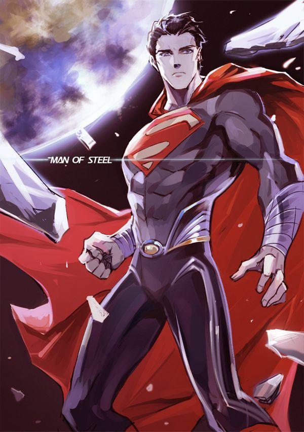 Ảnh Superman anime