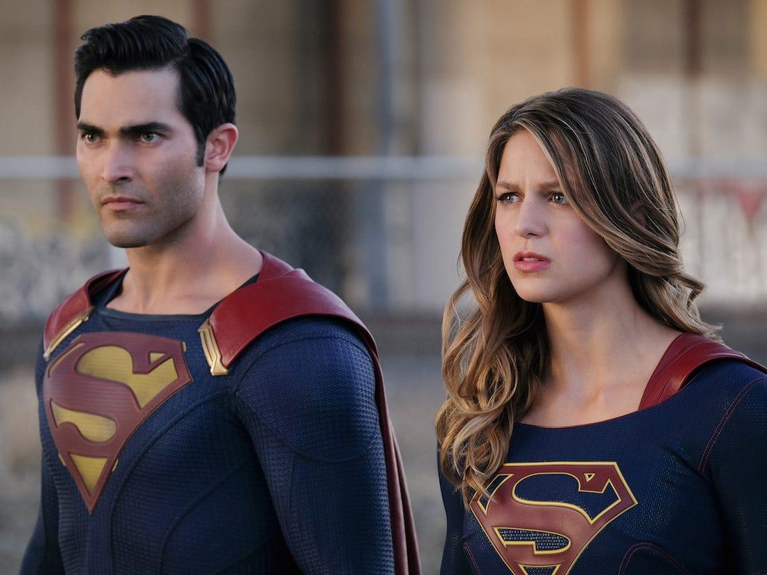 Ảnh Superman và Supergirl