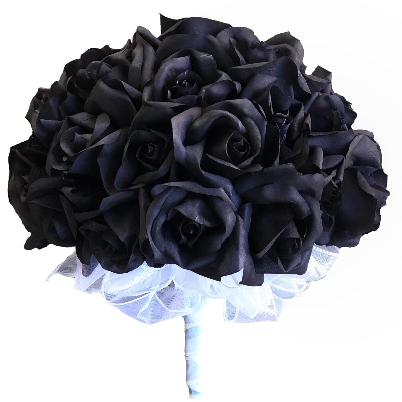 Bó hoa hồng đen cực đẹp