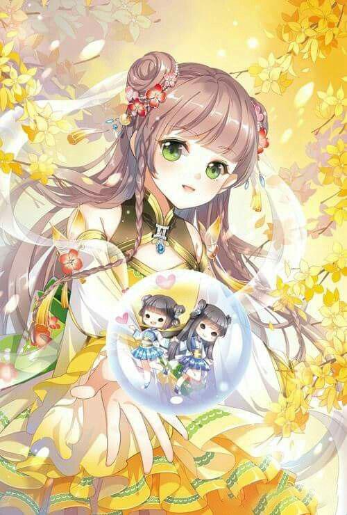 Hình ảnh anime cung Song Tử