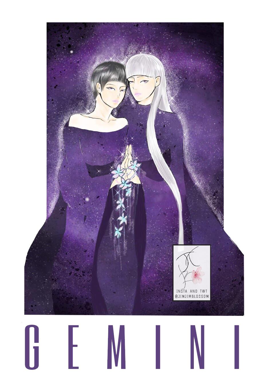 Hình ảnh biểu tượng cung Song Tử