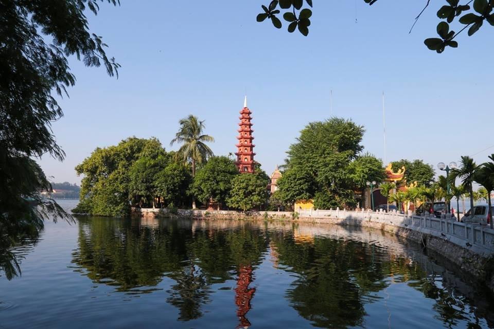 Hình ảnh chùa Trấn Quốc Hồ Tây