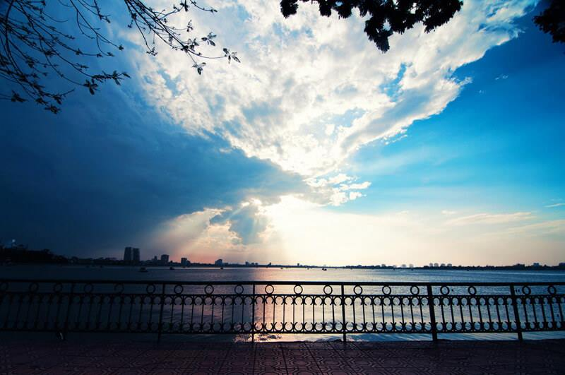 Hình ảnh đẹp Hồ Tây