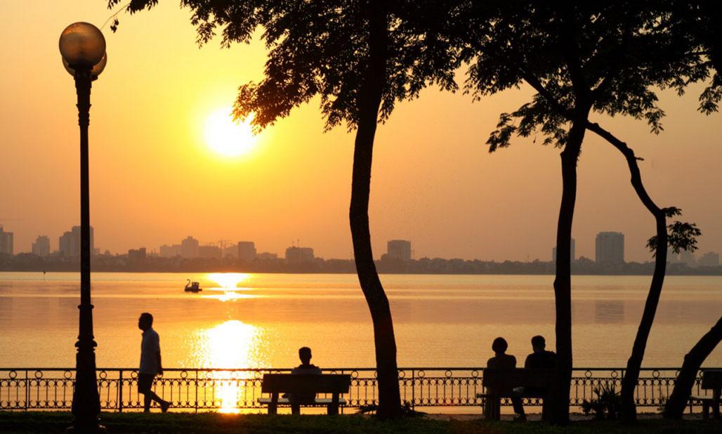 Hình ảnh đẹp về Hồ Tây
