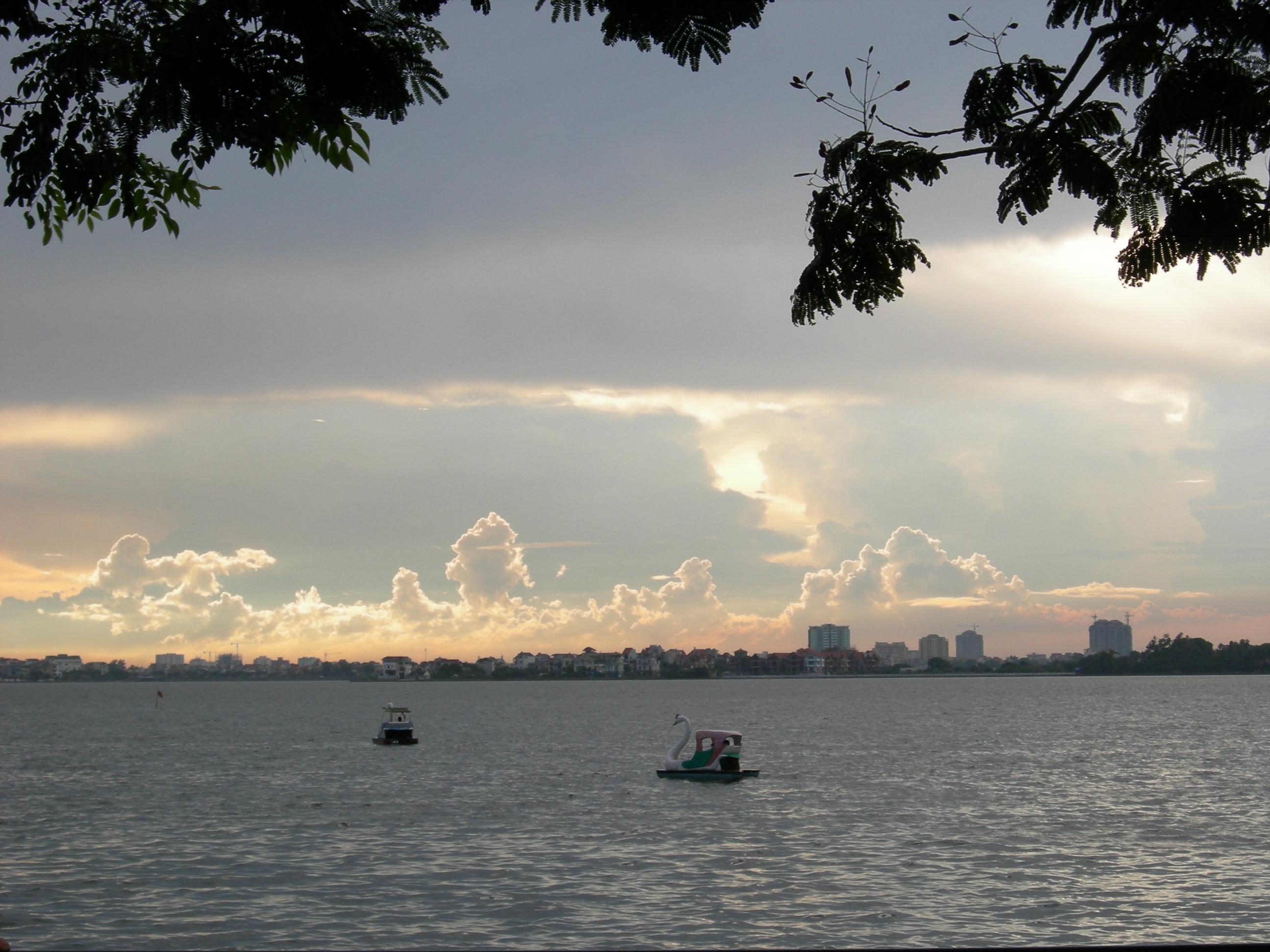 Hình ảnh Hồ Tây đẹp