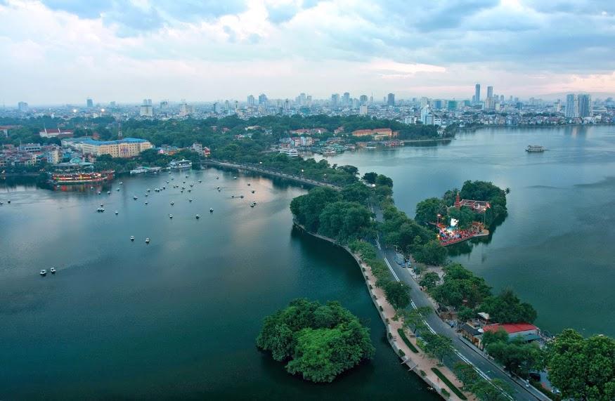 Hình ảnh Hồ Tây thủ đô Hà Nội