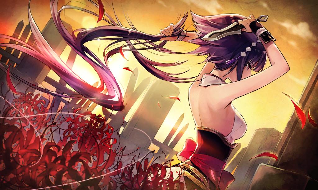 Hình ảnh hoa bỉ ngạn anime cực đẹp