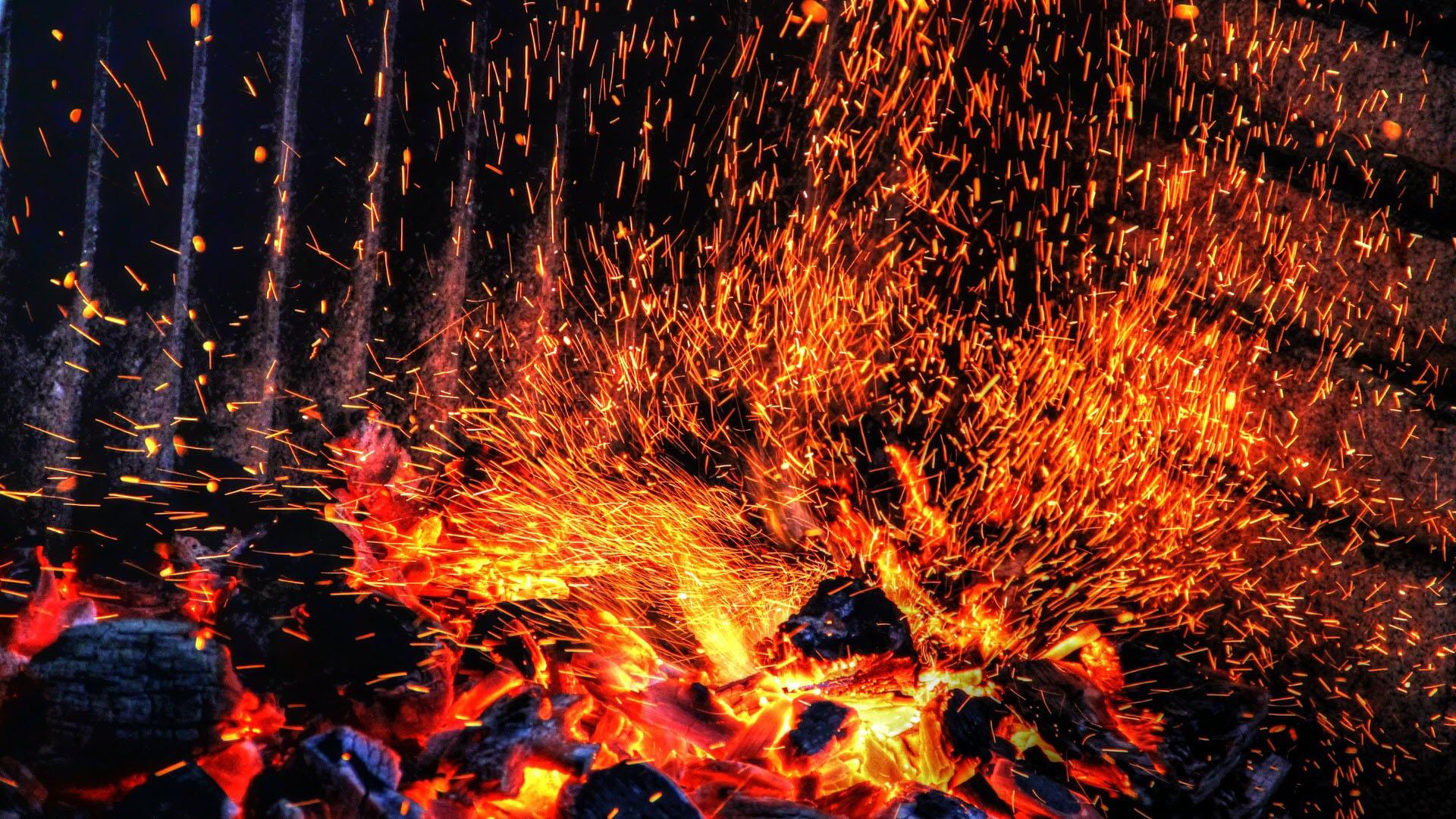 Hình ảnh nền ngọn lửa