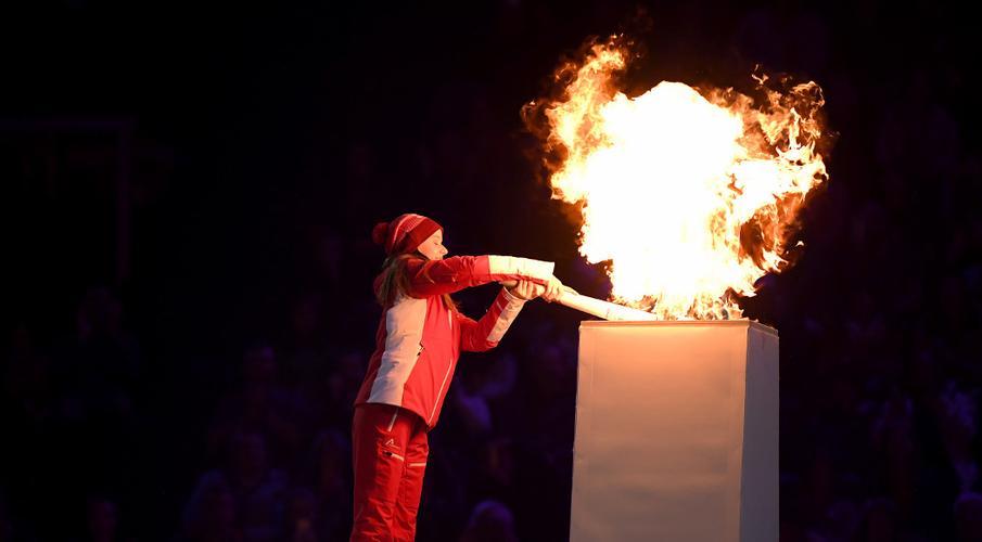 Hình ảnh ngọn lửa đuốc