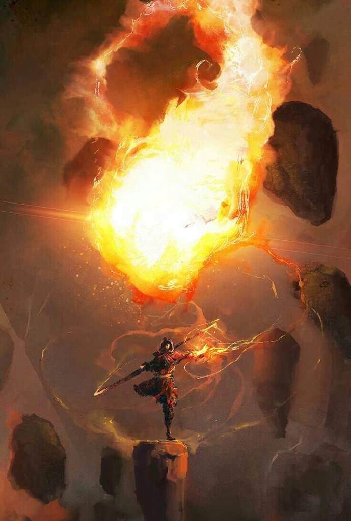 Hình ảnh ngọn lửa ma thuật
