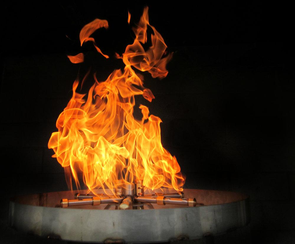 Hình ảnh ngọn lửa nhân tạo