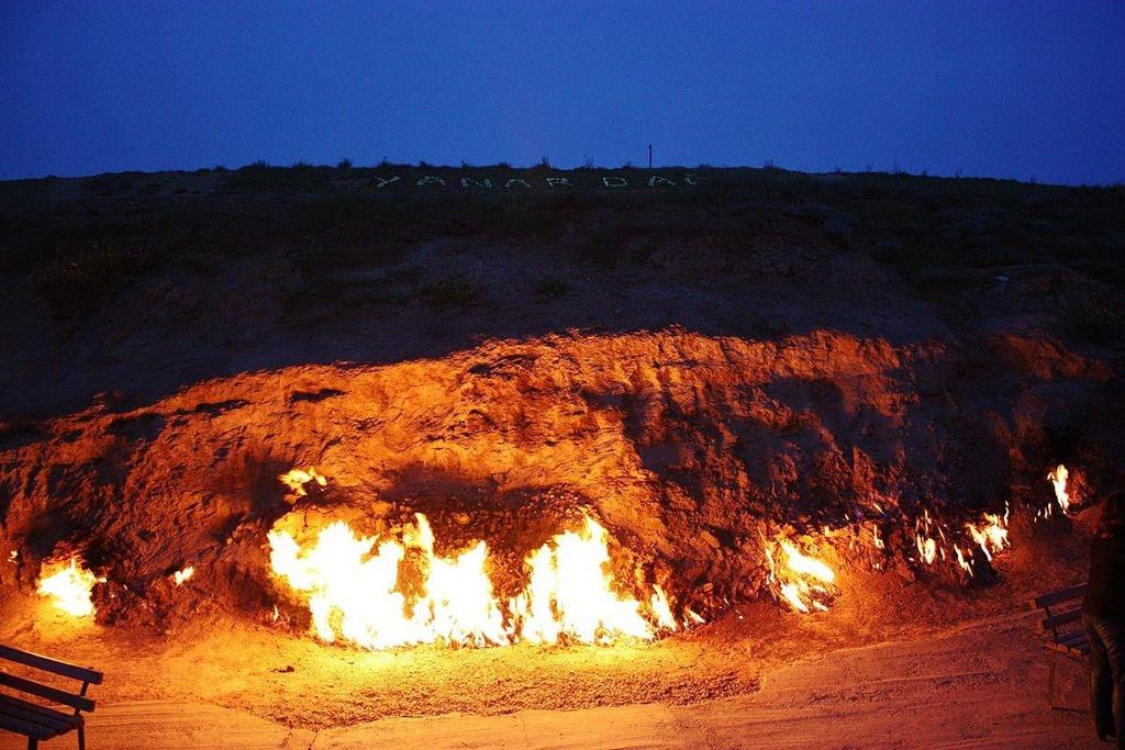 Hình ảnh ngọn lửa núi