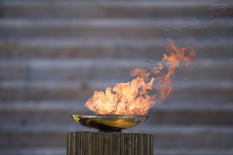Hình ảnh ngọn lửa Olympic