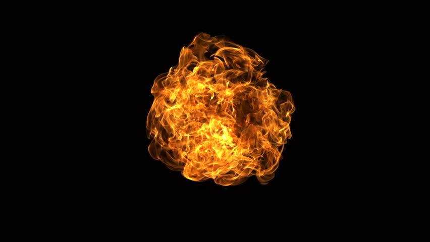 Hình ảnh quả cầu lửa nhỏ