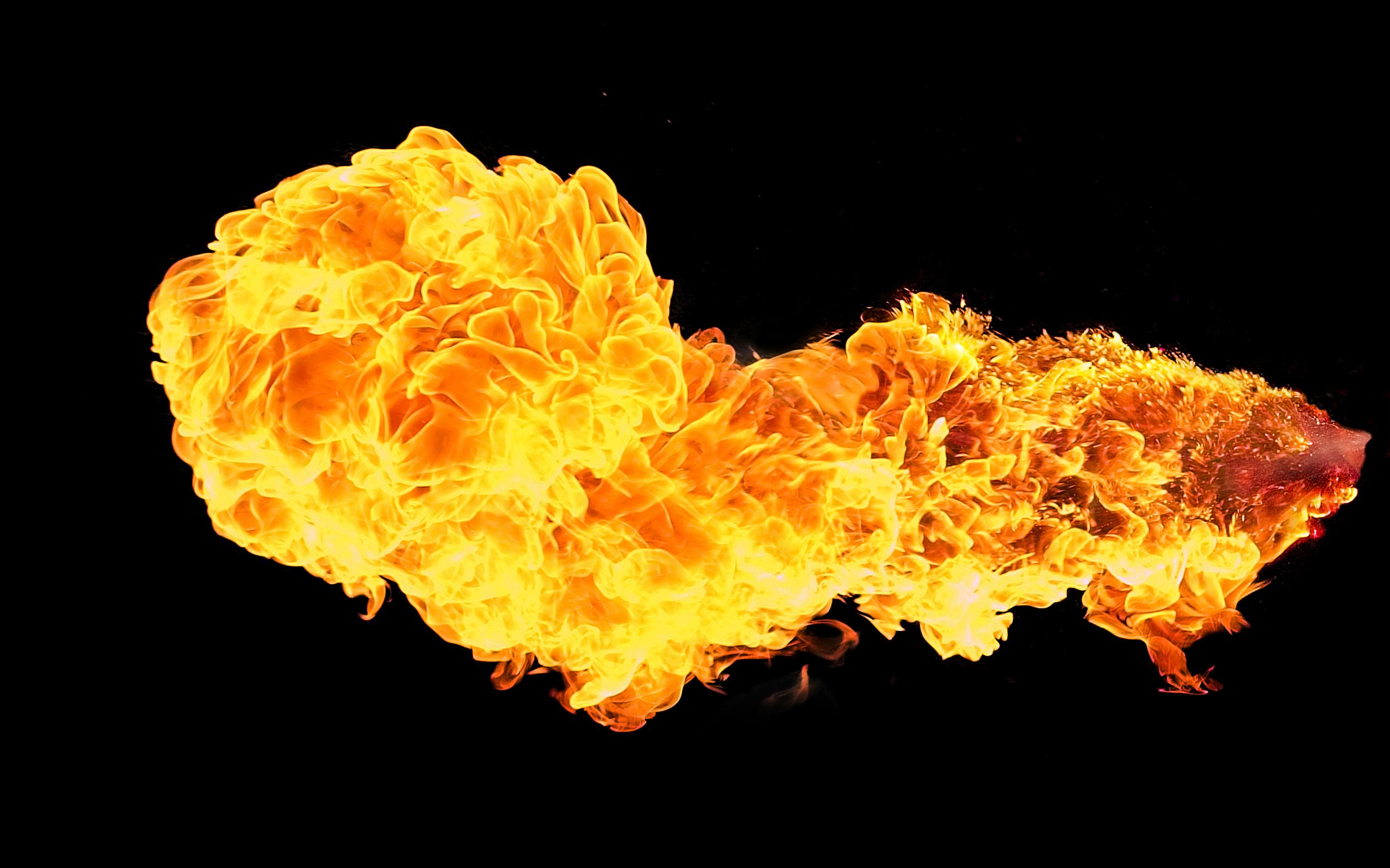 Hình ảnh quả cầu lửa