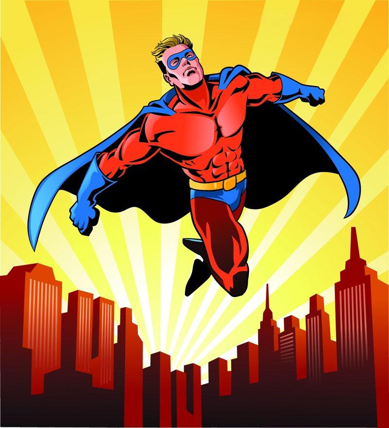 Hình ảnh siêu anh hùng Superman