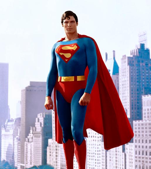 Hình ảnh Superman bay