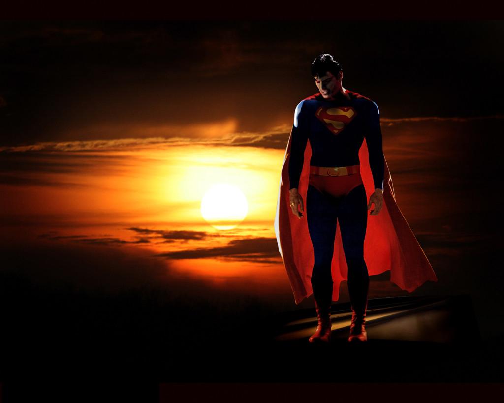 Hình ảnh Superman buồn