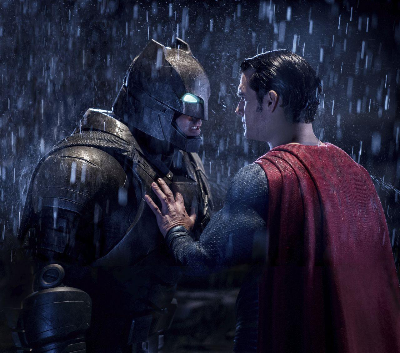 Hình ảnh Superman đại chiến Batman