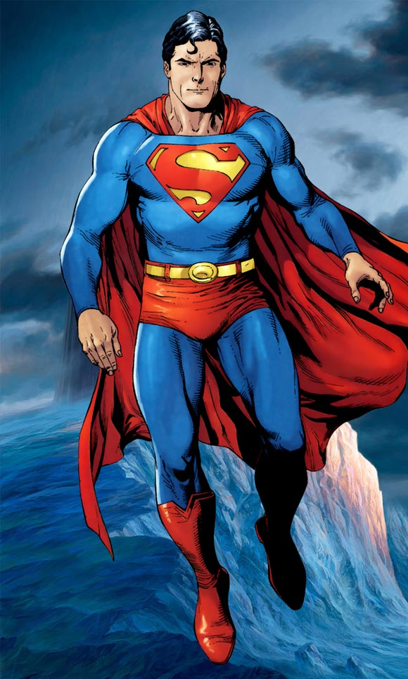 Hình ảnh Superman hoạt hình đẹp