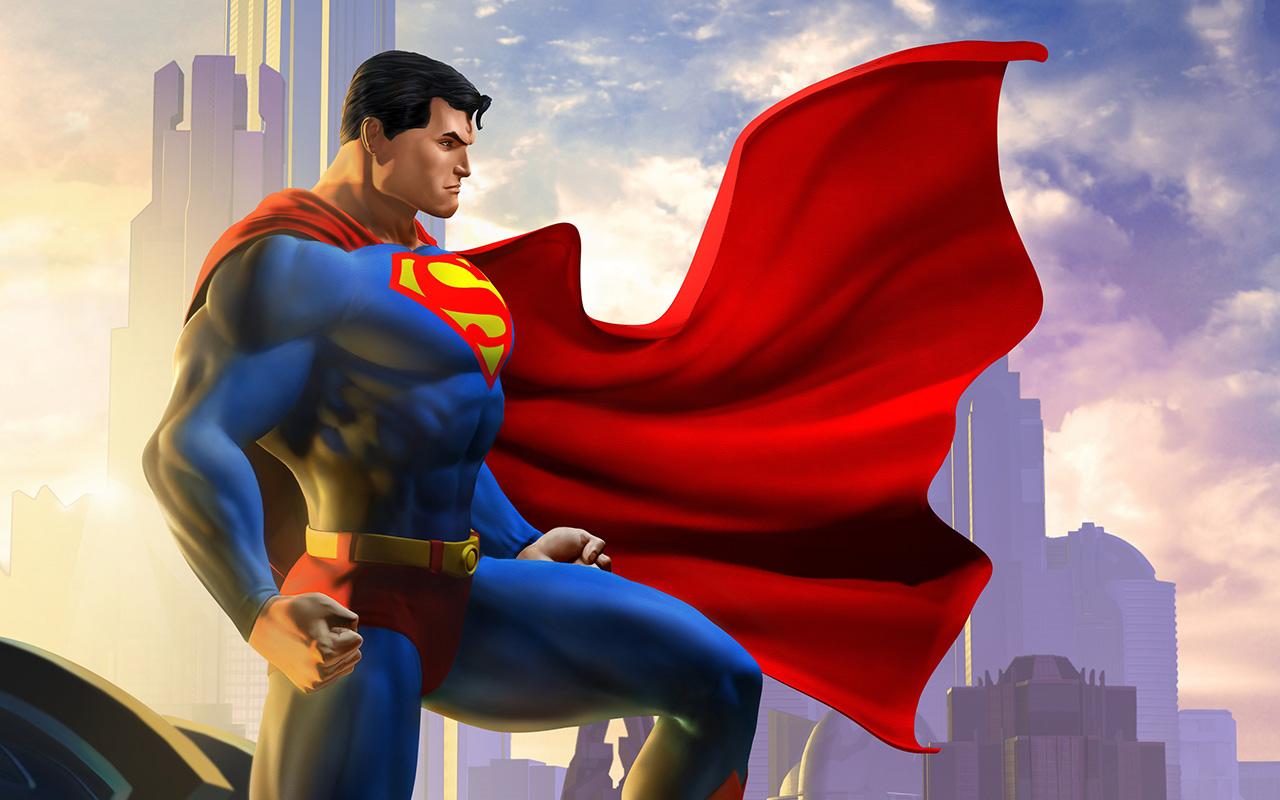 Hình ảnh Superman hoạt hình