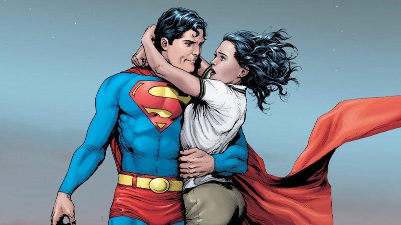 Hình ảnh Superman lãng mạn
