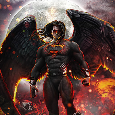 Hình ảnh Superman ngầu